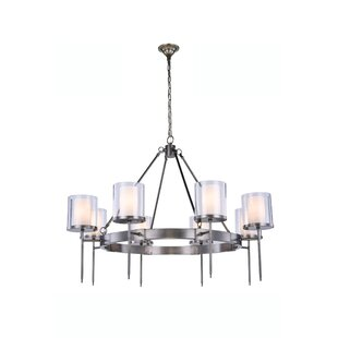 Simmon 6-Light Shaded Chandelier by Brayd..