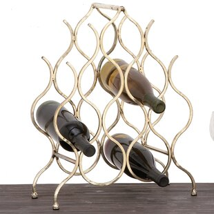 Anabelle 8 Bottle Tabletop Wine Bottle Rack