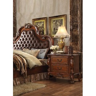 Astoria Grand Selma 2 Drawer Nightstand