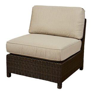 Wildon Home ® Armless Chair with Cushion