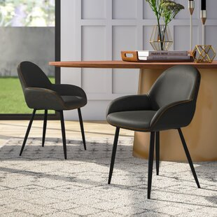 Rylee Upholstered Dining Chair (Set of 2) Mercury Row