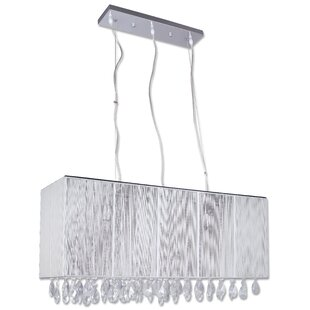 Beldi Portofino 3-Light Crystal Kitchen Island Pendant