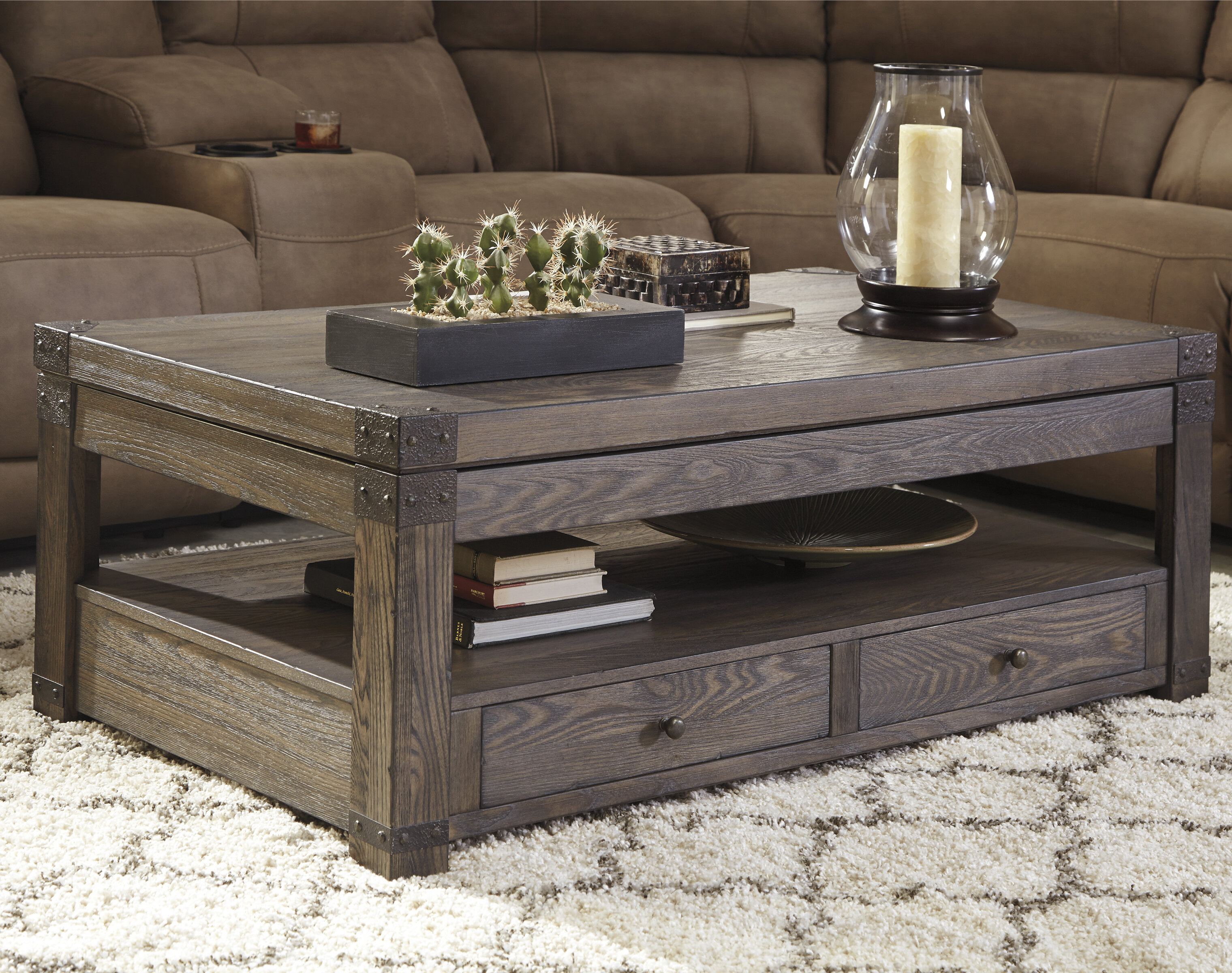 Loon Peak Bryan Lift Top Coffee Table Reviews Wayfair - Manly coffee table