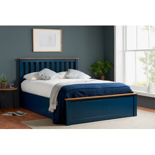 Blue leather bed luxury cheapest bumper bar bed single,double