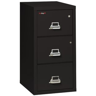FireKing Legal Safe-In-A-File Fireproof 3-Drawer Vertical File Cabinet