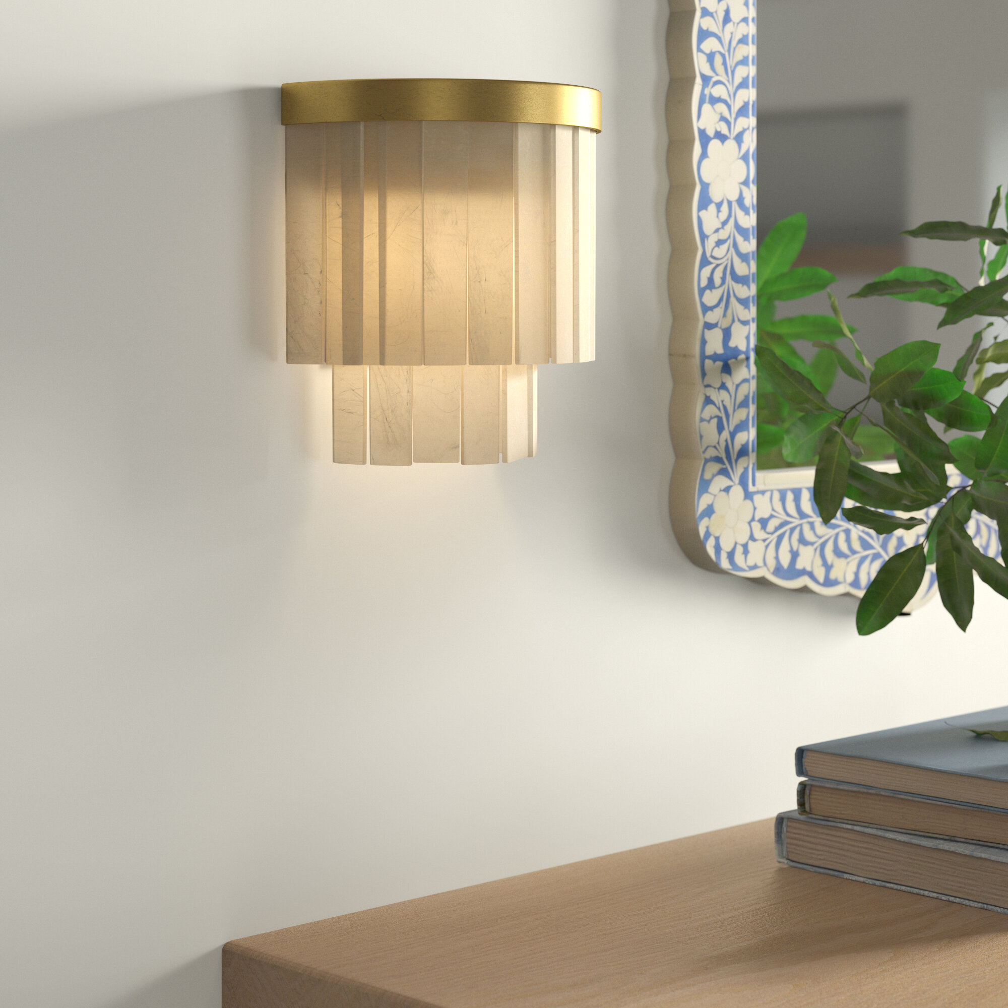 Kaylyn 1 Light Wall Sconce