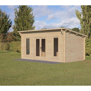 Viera 17 X 11 Ft. Tongue & Groove Log Cabin By Sol 72 Outdoor