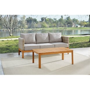 Nanette 2 Piece Sofa Seating Group with Cushions