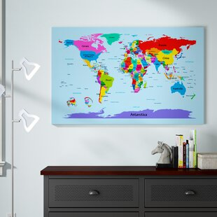 World Map Kids Room | Wayfair