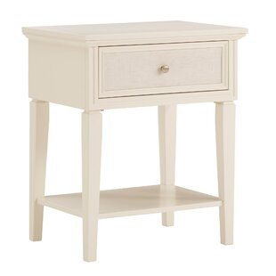 Magdaleno 1 Drawer Nightstand by Charlton Home