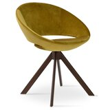 Crescent 23.75 W Faux Leather Papasan Chair by sohoConcept