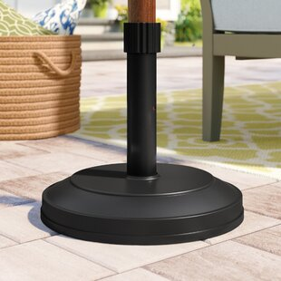 Yahir Iron Free Standing Umbrella Base