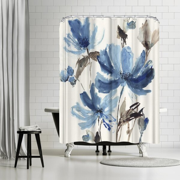 East Urban Home Pi Creative Art Blissful Single Shower Curtain Reviews Wayfair