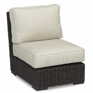 Sunset West Cardiff Armless Club Chair with Cushions