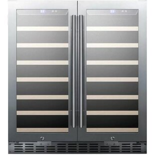 Summit Appliance Summit 30-inch 70 Bottle Dual Zone Built-In Wine Cooler
