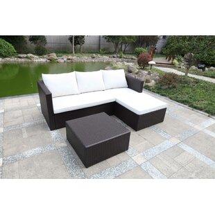 Corner Outdoor Sofa Garden Wayfair Co Uk