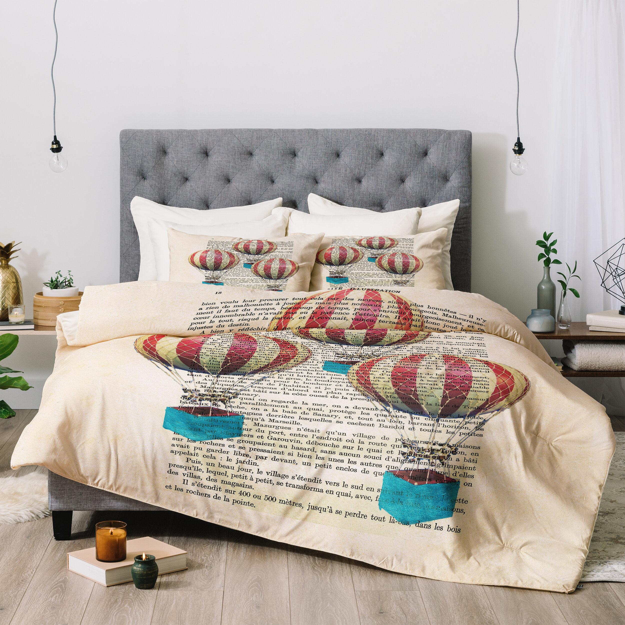East Urban Home 3 Piece Comforter Set Wayfair