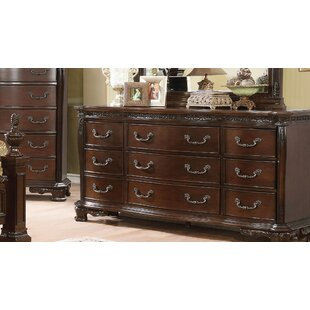 Rishel Traditional 9 Drawer Dresser