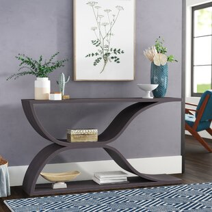 Heinz Hollow Wave Design Console Table