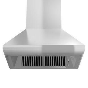 36 1200 CFM Ducted Wall Mount Range Hood by ZLINE Kitchen and Bath