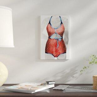 f1e55db91c5 'Vintage Bathing Suit II' Print on Canvas