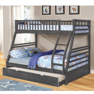 Schoenberger Twin Over Full Bed with Trundle