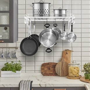 NULL Kitchen Wall Mounted Pot Rack By Rebrilliant