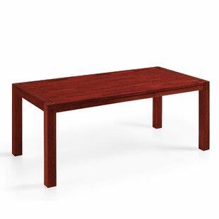 Brayden Studio Solid Wood Dining Table