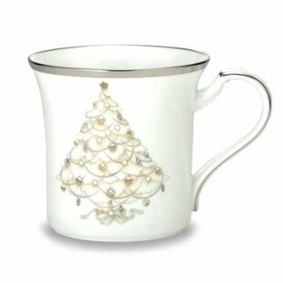 Palace Christmas Platinum 12 oz. Accent Mug