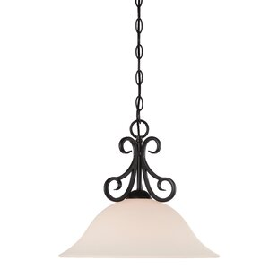 Designers Fountain Addison 1-Light Cone Pendant