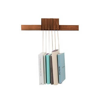 Hanna Adjustable Wall Book Rack By Natur Pur