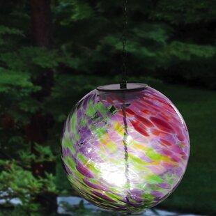 Outdoor Solar Hanging Lights Outdoor hanging solar globes wayfair hanging solar gazing globe workwithnaturefo