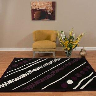 Find a Eloise Black/White Area Rug ByEbern Designs