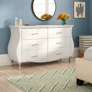 Hill 6 Drawer Double Dresser by Latitude Run