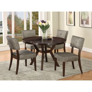 Leboeuf 5 Piece Dining Set Latitude Run