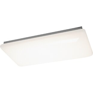 Low priced Railyard 4-Light Flush Mount By Red Barrel Studio