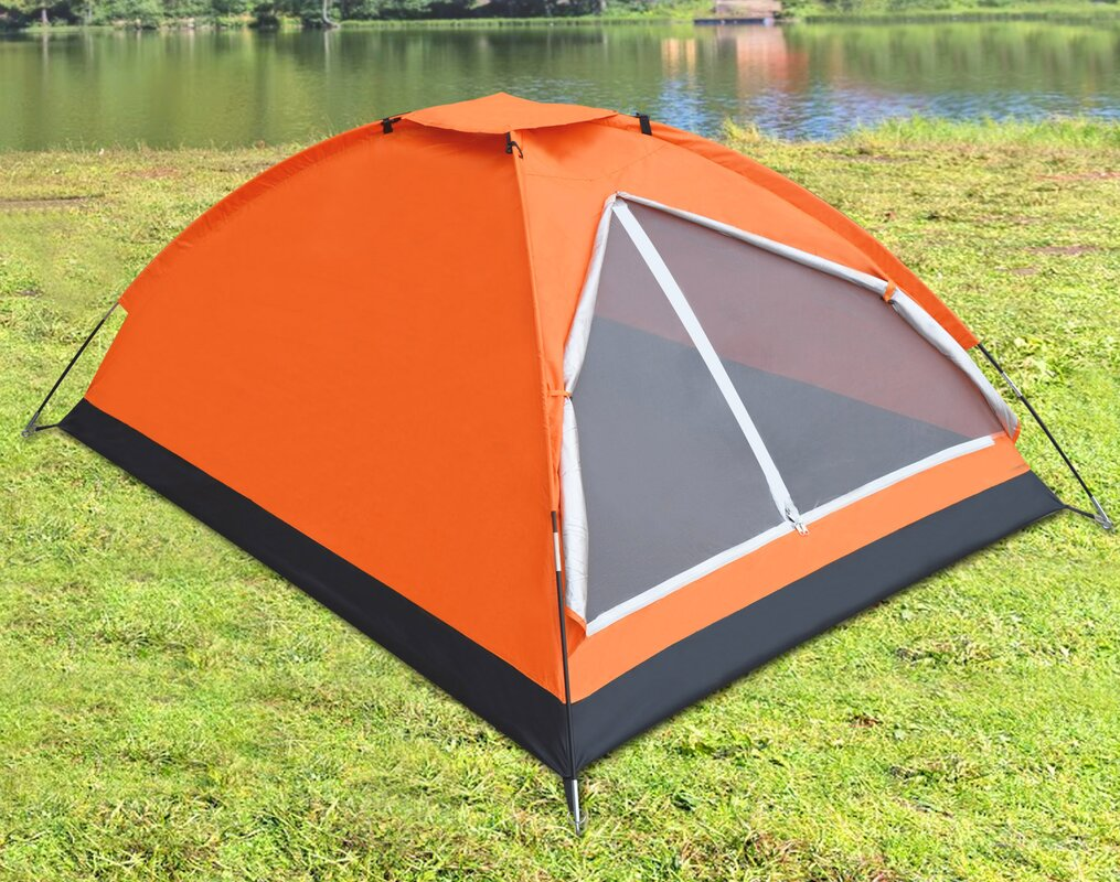 Portable Backpacking Family 2-3 Person Tent & StrongCamel Portable Backpacking Family 2-3 Person Tent u0026 Reviews ...