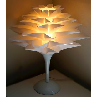 Lotus flower lamp wayfair noble spark lotus flower 177 table lamp aloadofball Choice Image