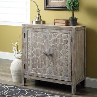 Ambriz 2 Door Accent Cabinet by Bungalow Rose SKU:DB664552 Check Price
