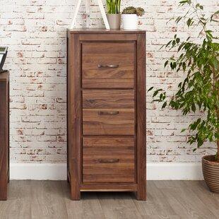 Emmalynn 3-Drawer Vertical Filing Cabinet By Ebern Designs