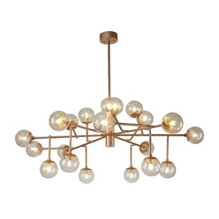 Everly Quinn Knecht LED Chandelier
