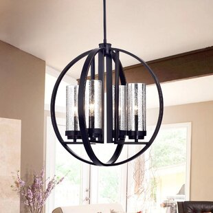 Warehouse of Tiffany Yuval 4-Light Foyer Pendant