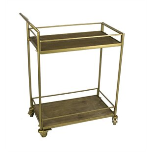 Faulkner 2 Tiered Bar Cart by Ivy Bronx