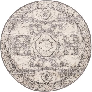 Bojorquez Ivory Area Rug by Bungalow Rose