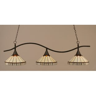 Demi 3-Light Billiard Light by..