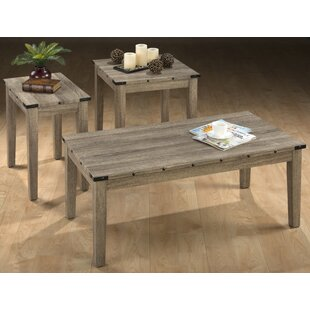 Laidley 3 Piece Coffee Table Set
