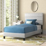 Aghadavy Upholstered Low Profile Platform Bed by Ebern Designs