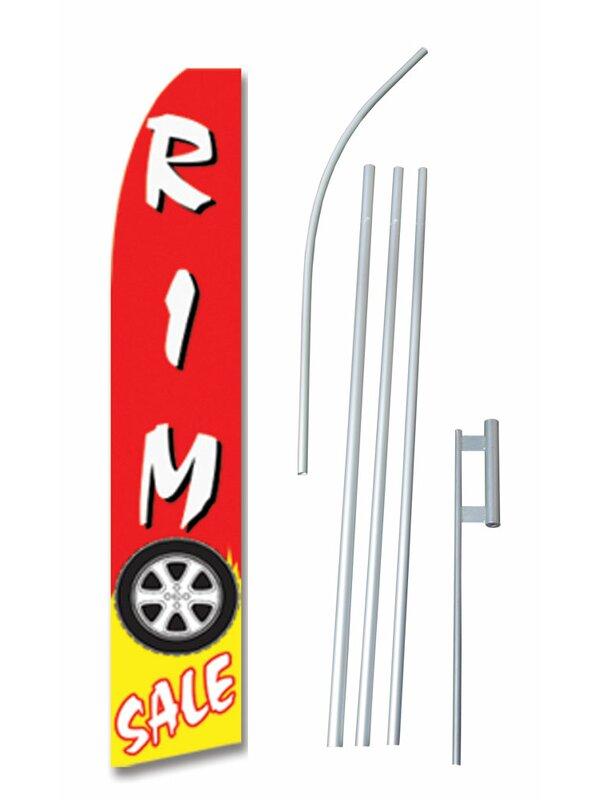 Neoplex Rim Sale Polyester 180 X 30 In Flag Set Wayfair