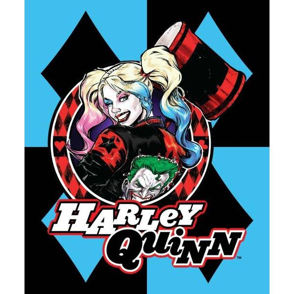 6100168084a297 Harley Quinn Blanket
