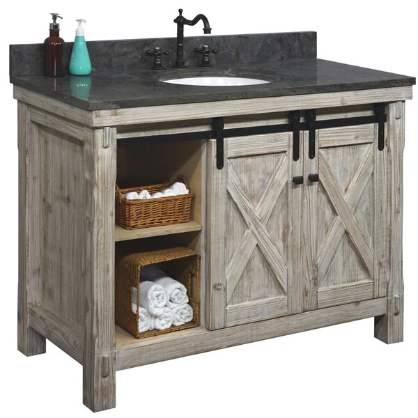Gracie Oaks Gienmere 49 Single Bathroom Vanity Set Wayfair